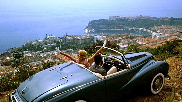 Grace Kelly caccia al ladro grand corniche