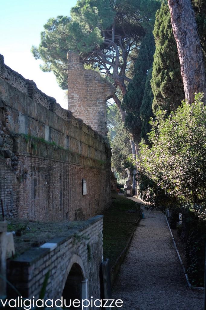 giardino cimitero acattolico