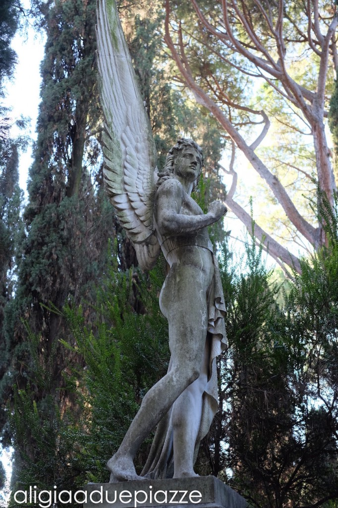 cimitero acattolico angelo