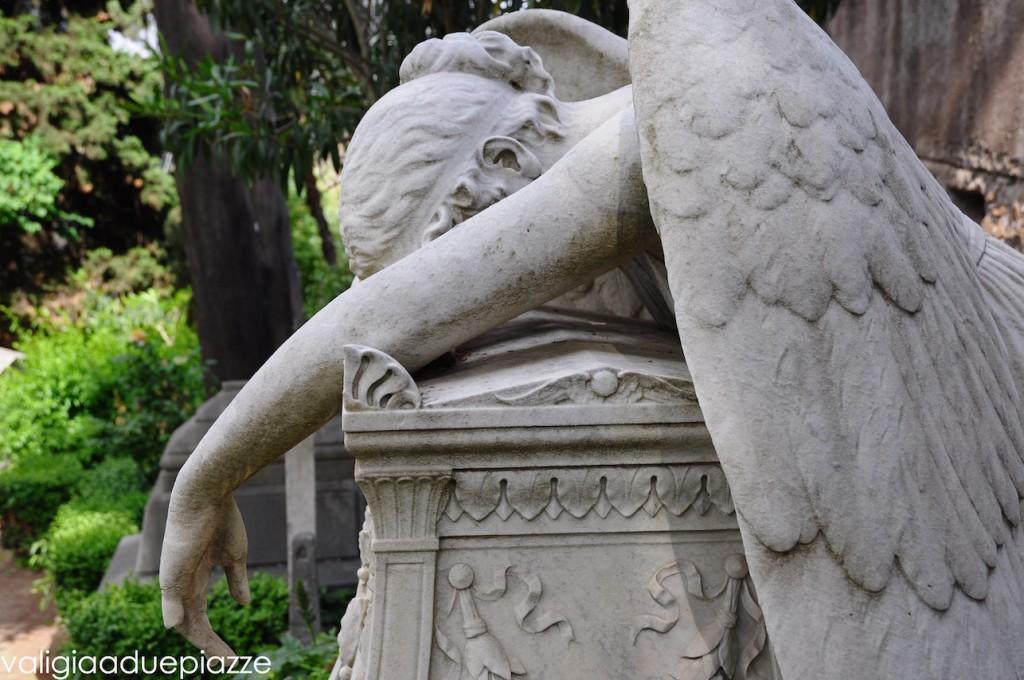 cimitero acattolico angelo della morte