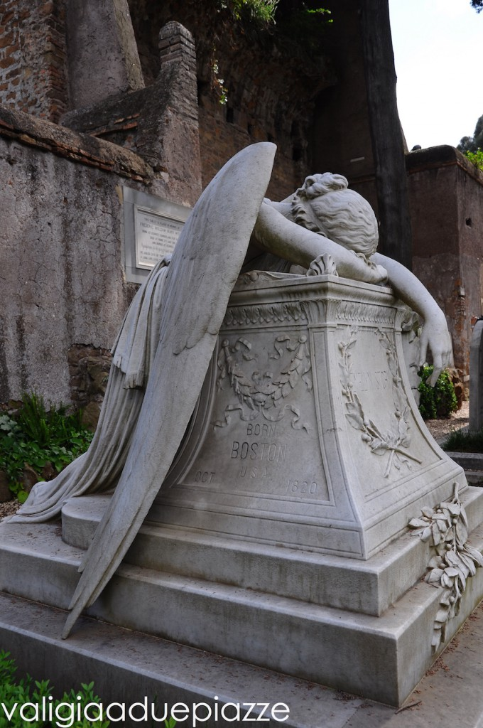 William Wetmore Story angelo del dolore cimitero acattolico roma