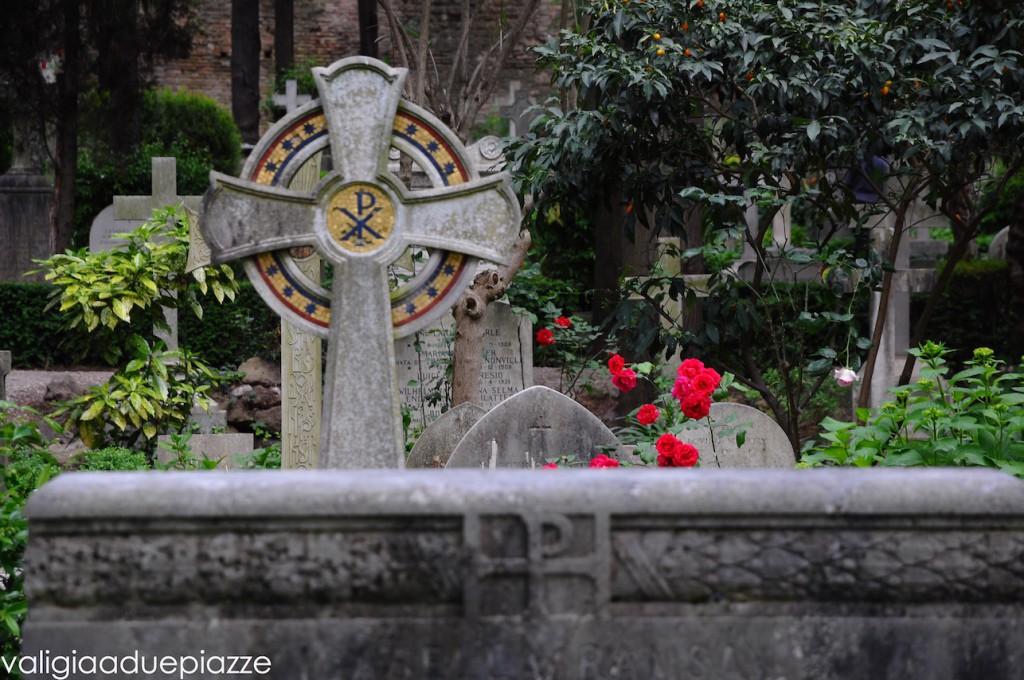 cimitero degli inglesi roma