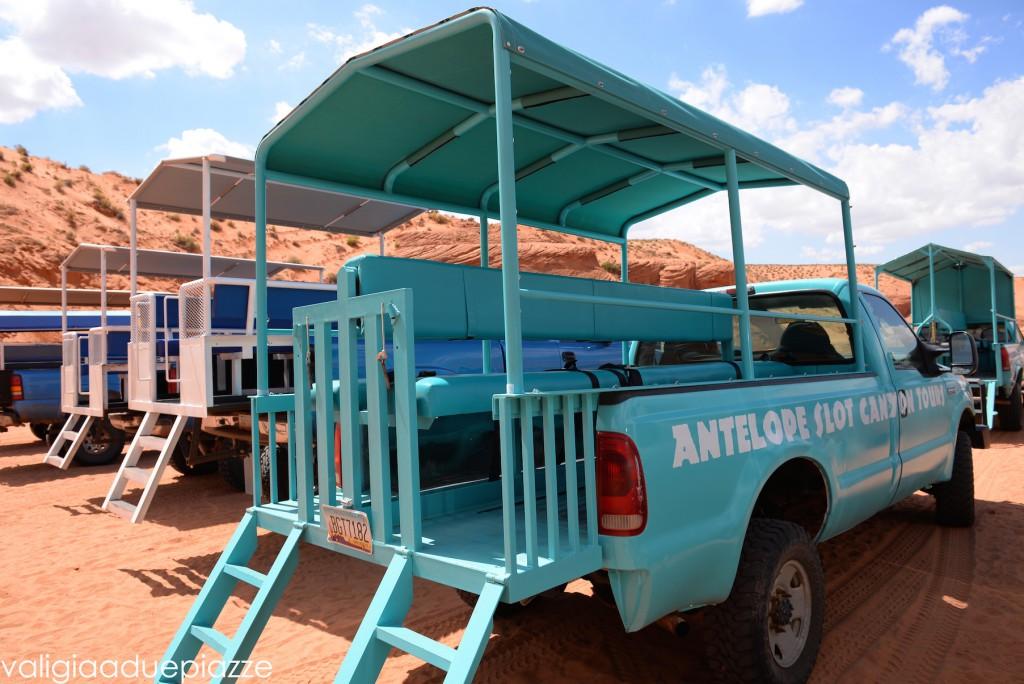 slot tour antelope canyon