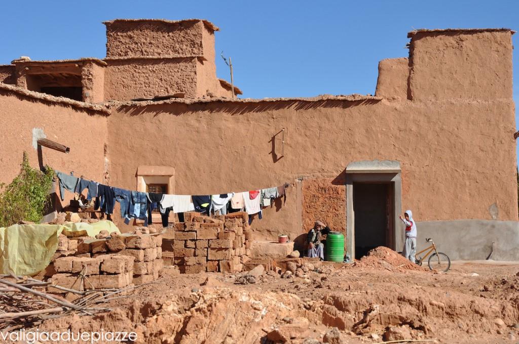 ait benhaddou marocco villaggio