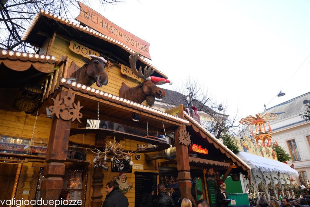 le alci del mercatino di natale di basilea