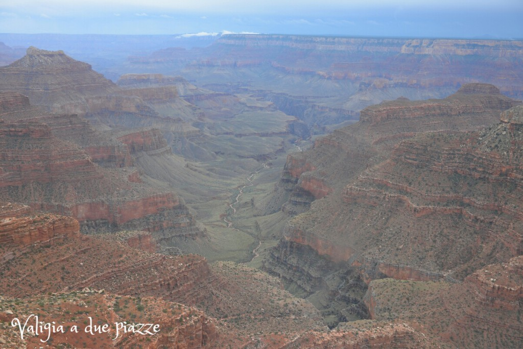 grand canyon dall'elicottero