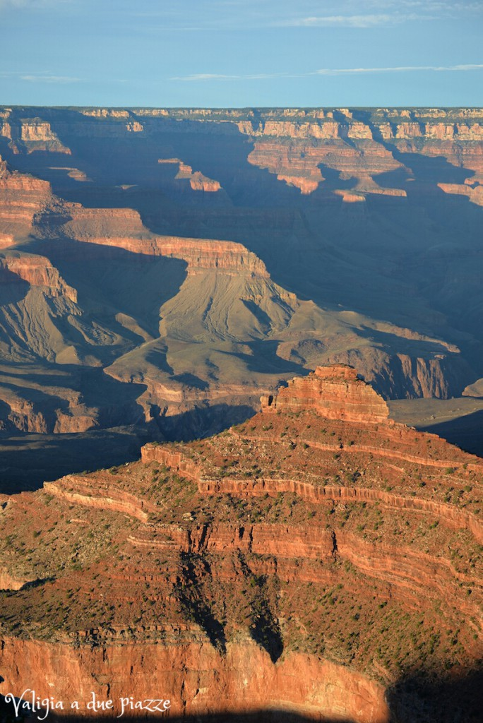grand canyon tramonto