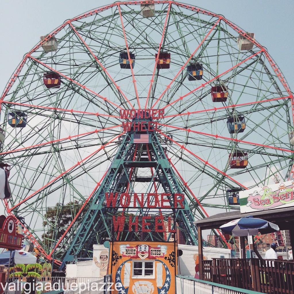 coney island wheel