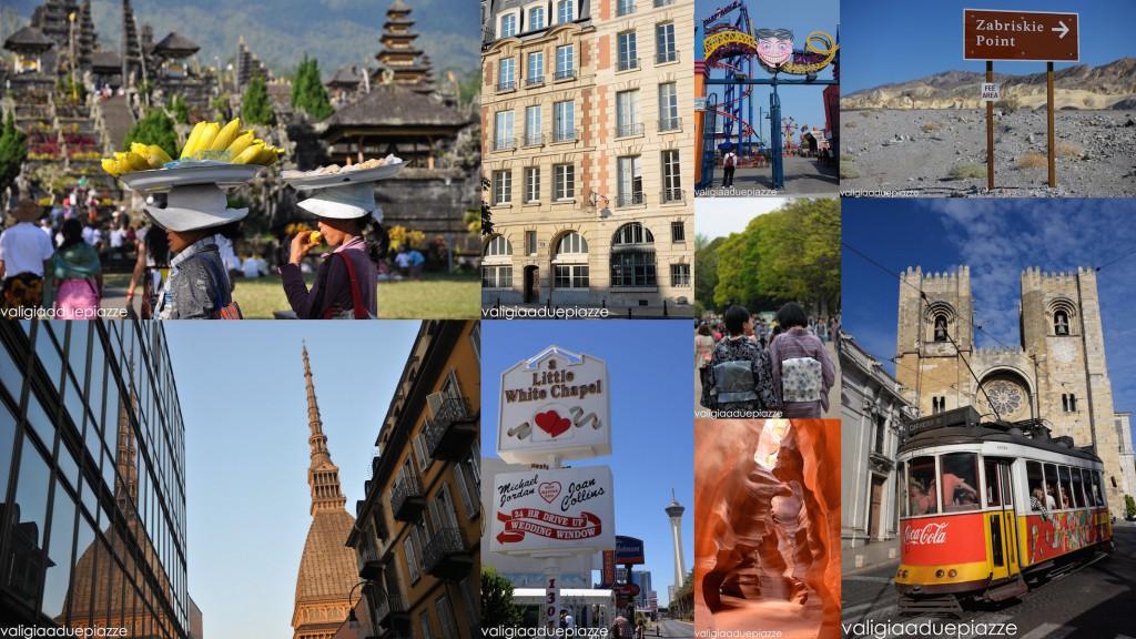 Un anno di viaggi 2015 valigia a due piazze