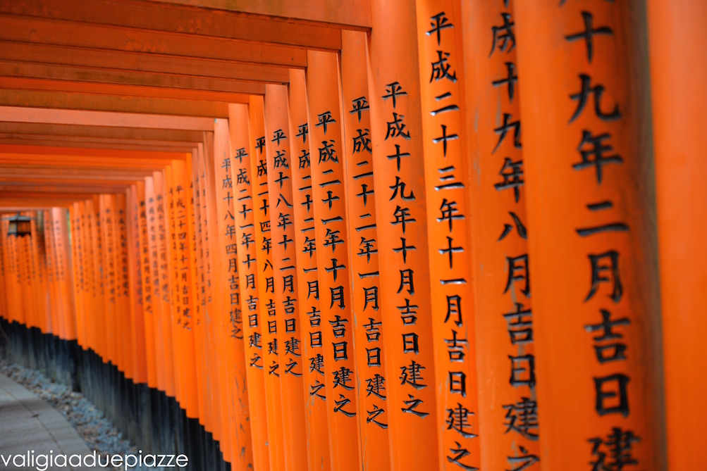 torii rossi fushimi inari kyoto
