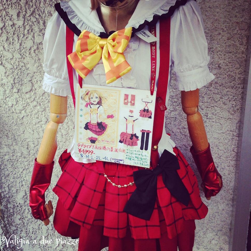 vestito sailor moon tokyo