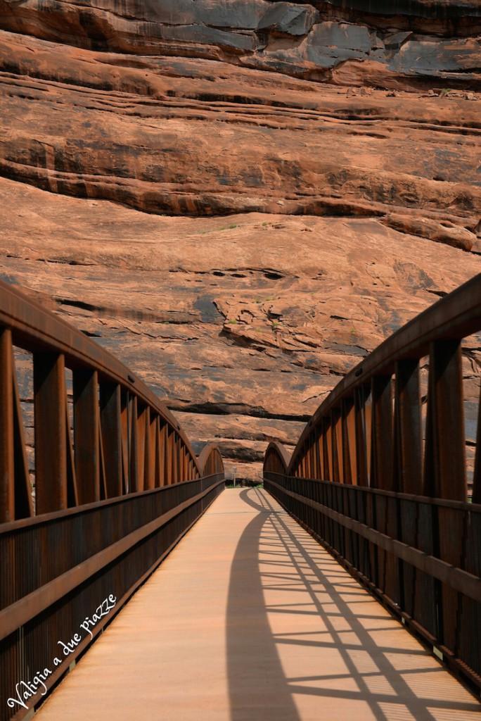 moab ponte sul fiume colorado utah