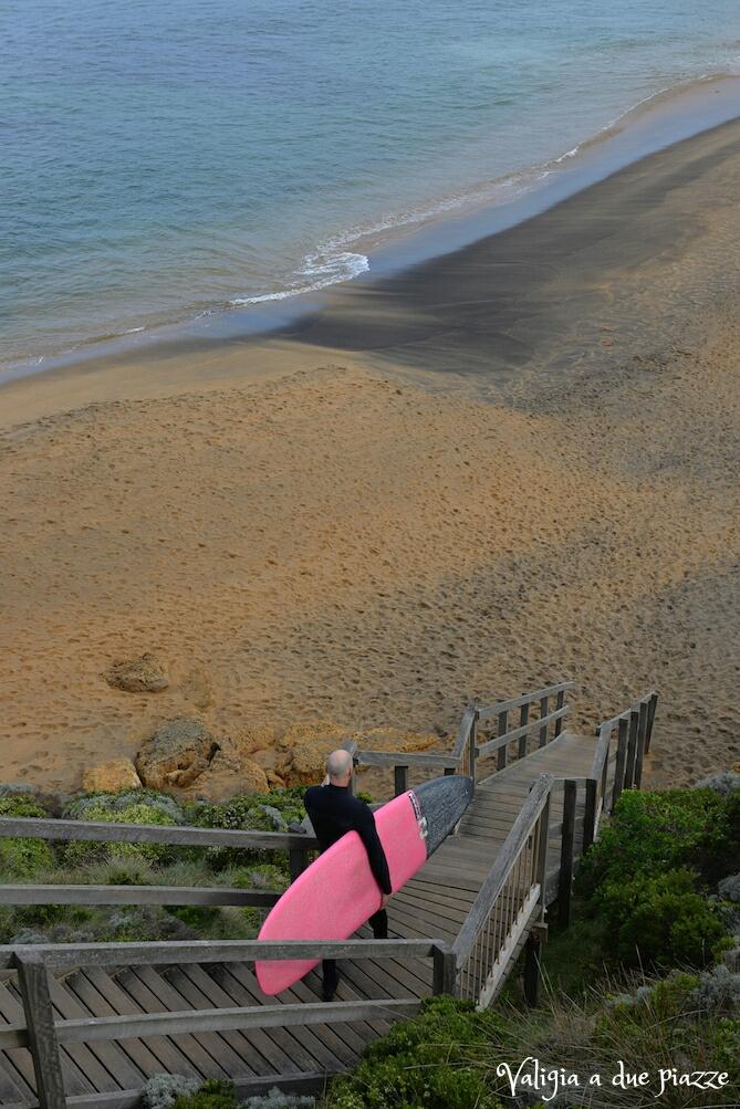 surfer bells beach torquay