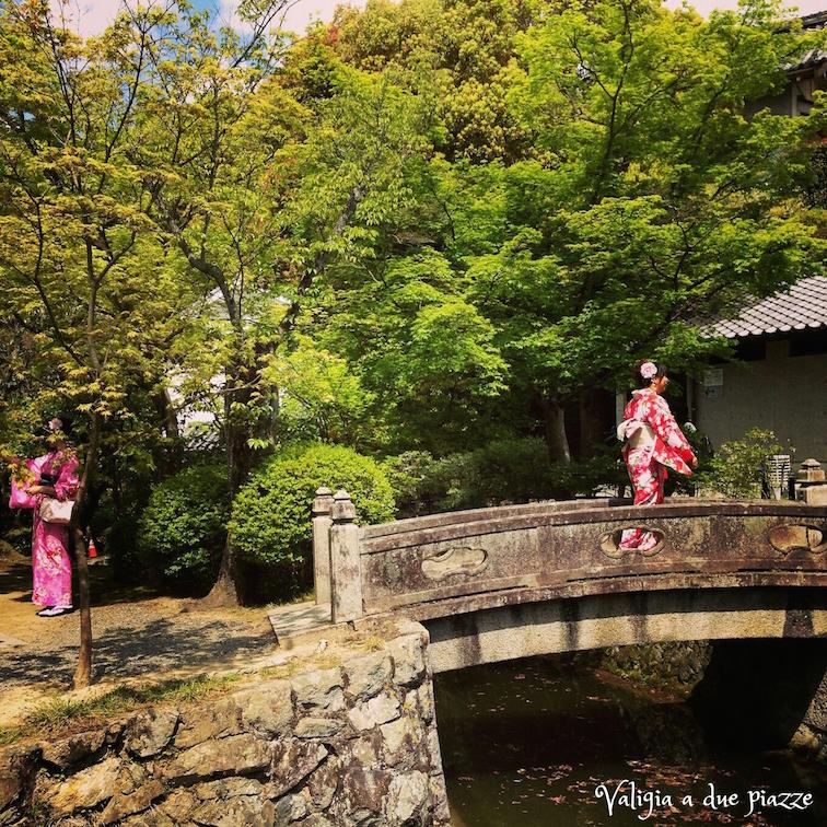 kyoto yukata kymono komorebi