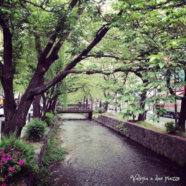 Canali Pontocho Kyoto