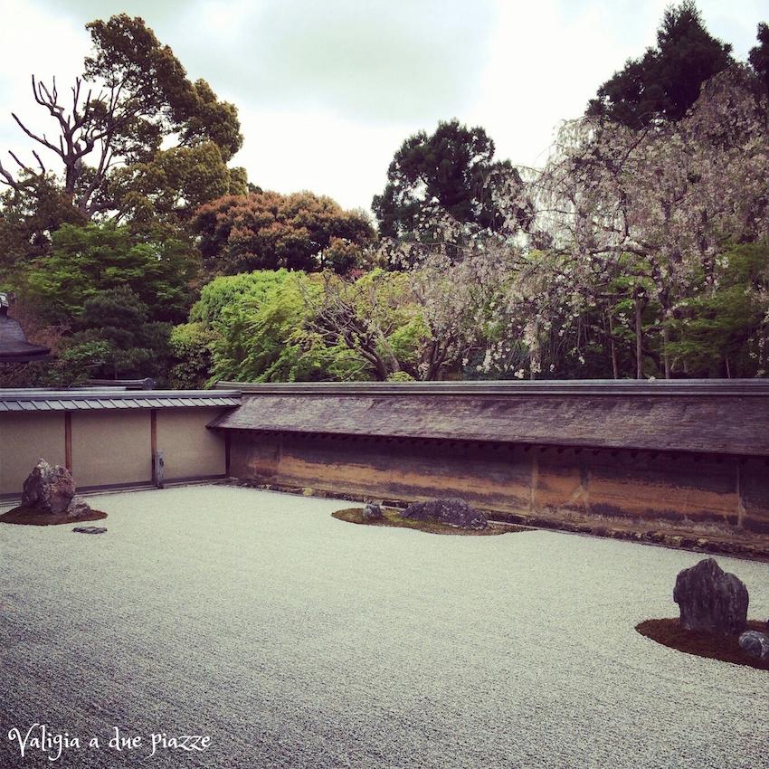 giardino zen ryoan-ji Kyoto