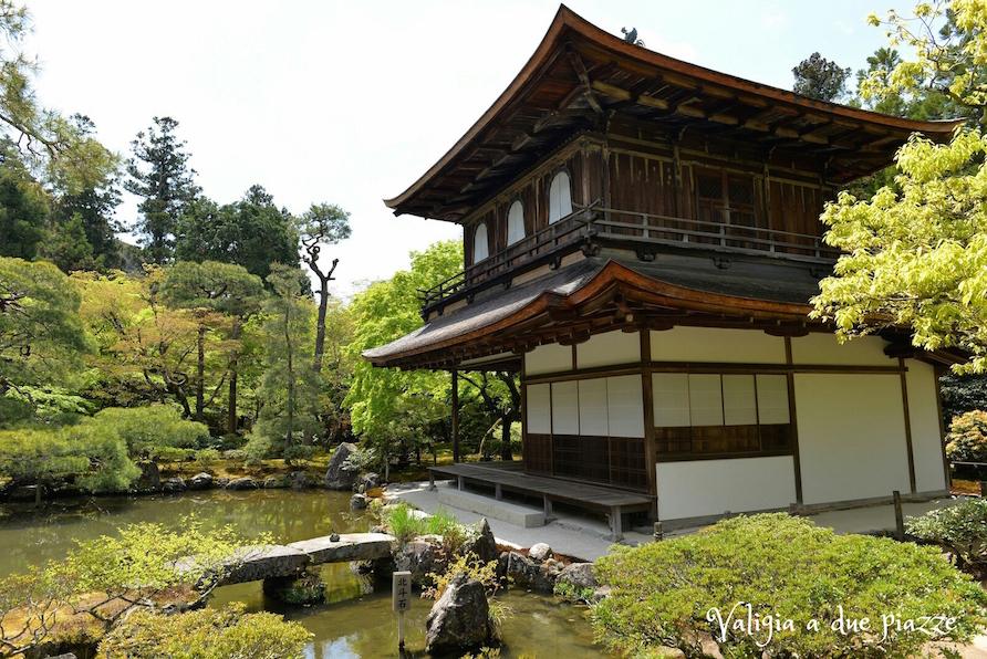 Ginkaku-ji Padiglione d'Argento Kyoto