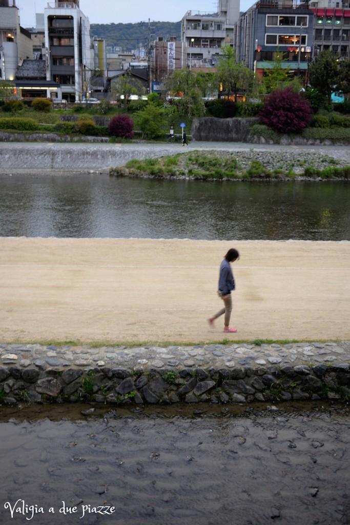 Fiume Kamo Kyoto