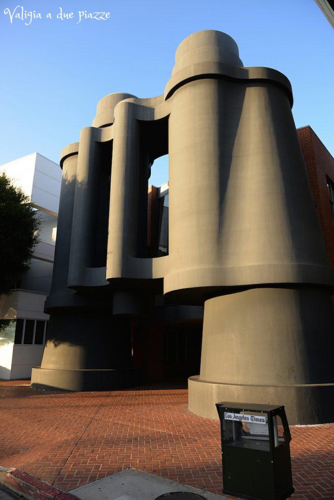 Cannocchiale scultura Venice Beach