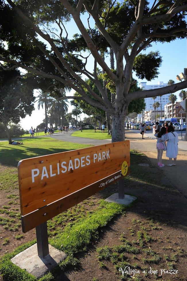 Palisades Park Santa Monica Los Angeles