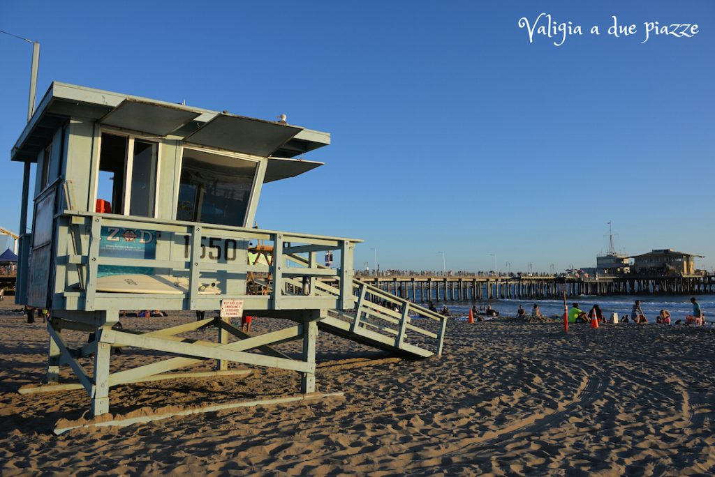 Torretta bay watch Santa Monica beach