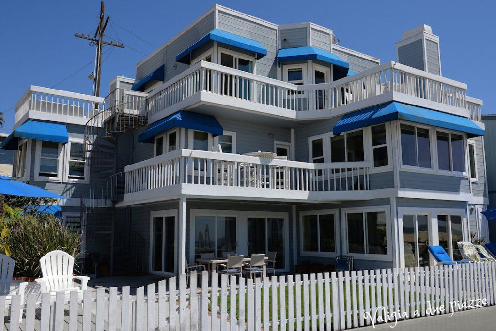 Casa sulla spiaggia Kelly Donna Beverly Hills 90210