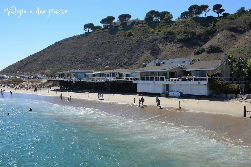 Malibu beach USA