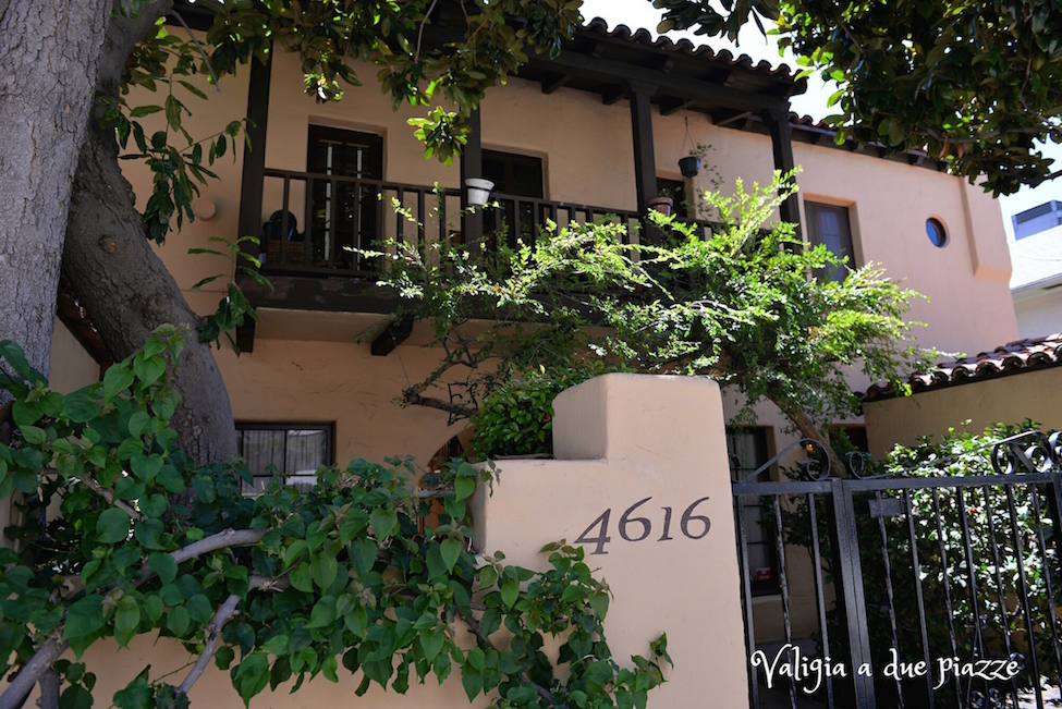 Melrose Place Los Feliz location
