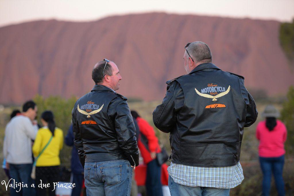 Tramonto Ayers Rock Australia