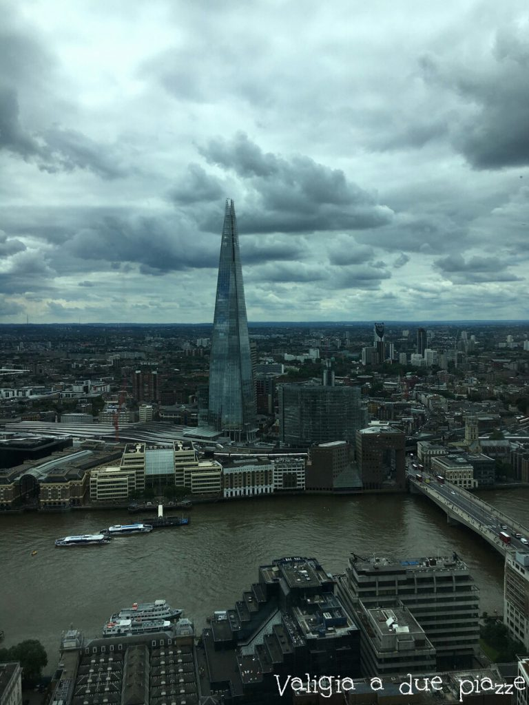 the shard from sky garden london