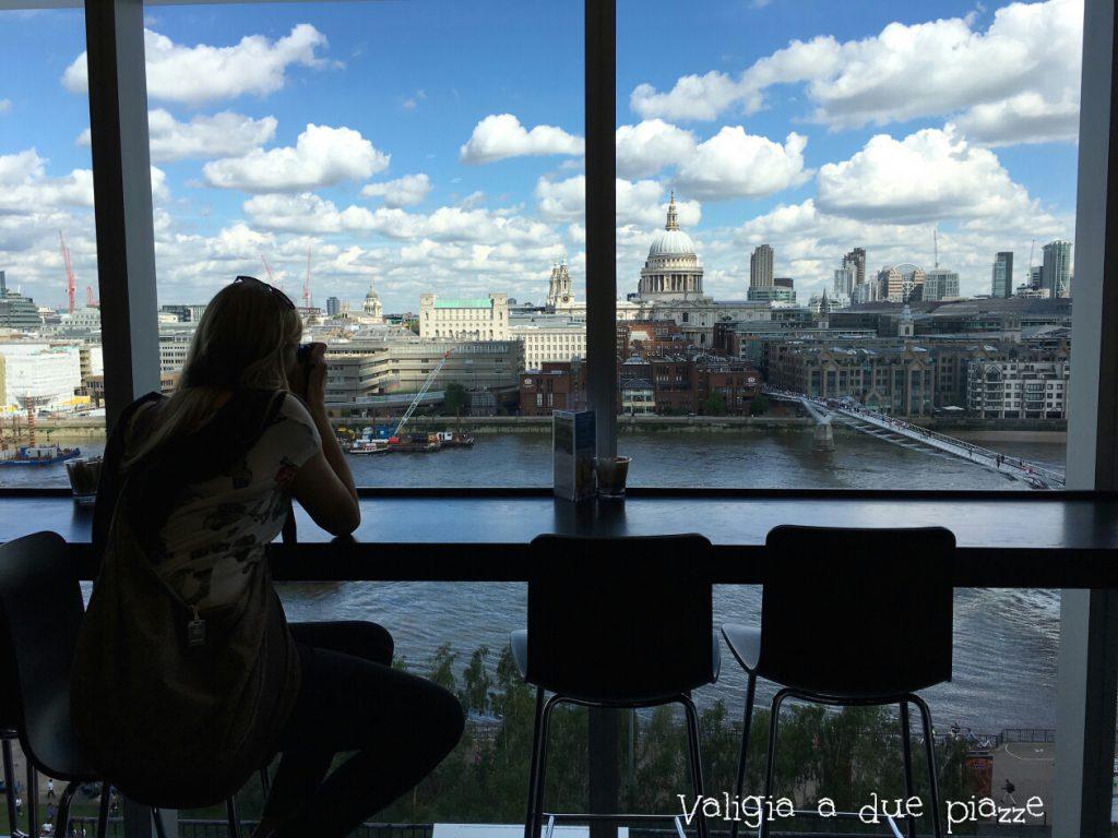Cafe Tate Modern panorama