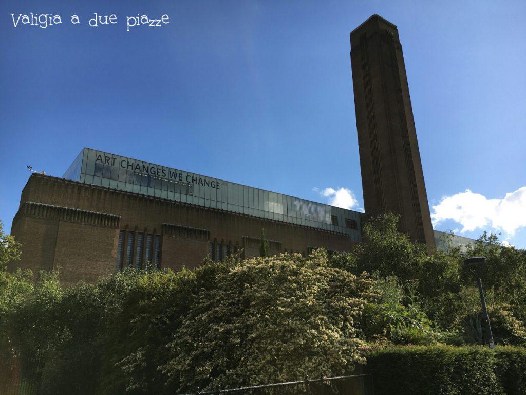 Tate Modern ex centrale elettrica Londra