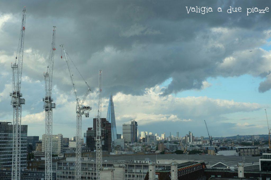 The Shard da London Eye Londra