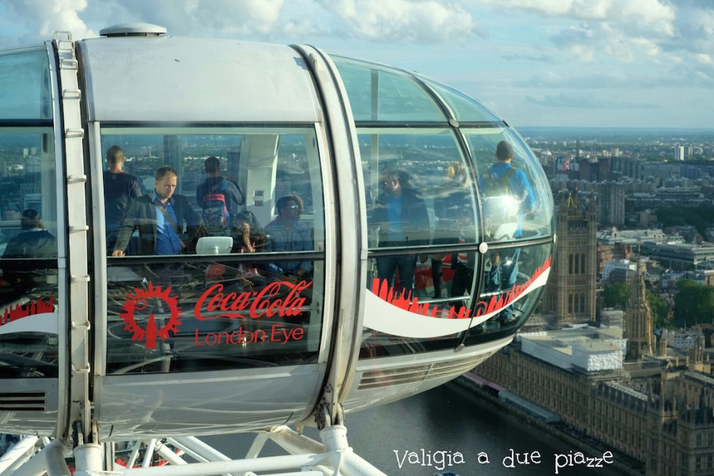 Coca-Cola London Eye Londra cosa si vede