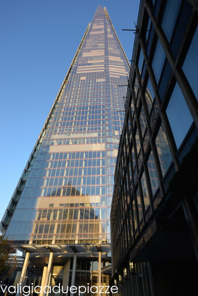 Scheggia Londra Renzo Piano