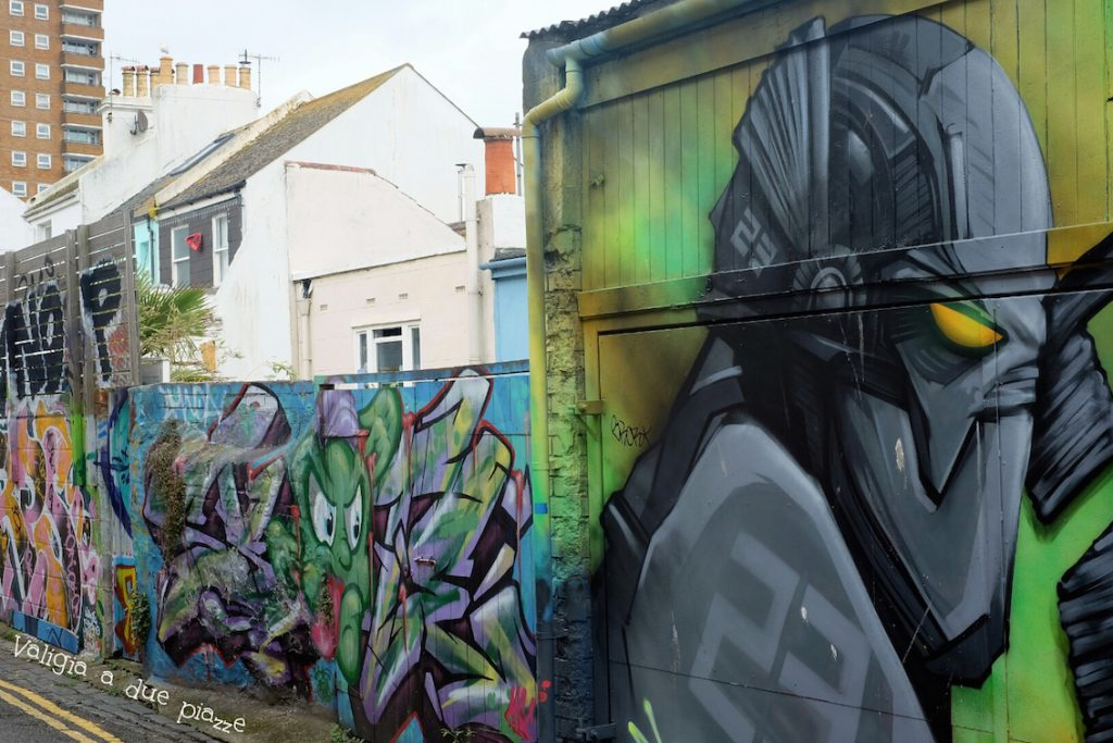 north laine graffiti brighton