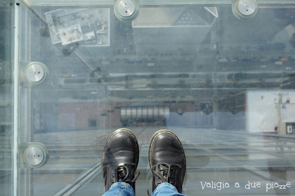 balconi in vetro skydeck Willis Tower Chicago