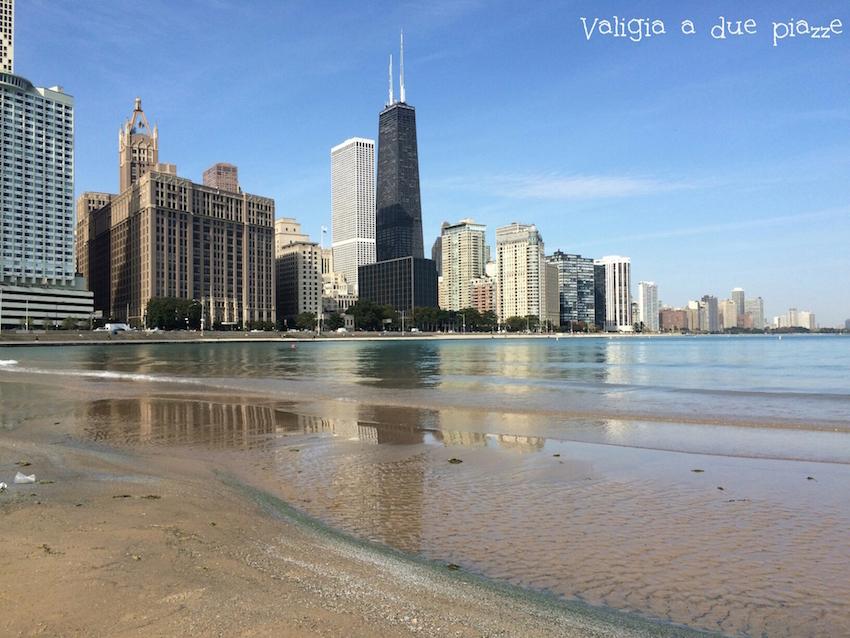 spiaggia Chicago - tre giorni a Chicago