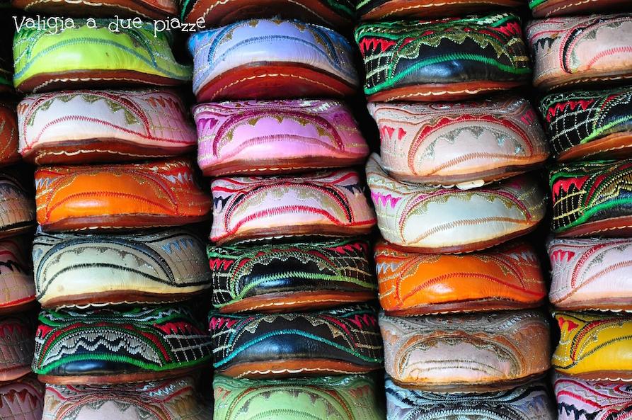 babbucce pelle marocchine