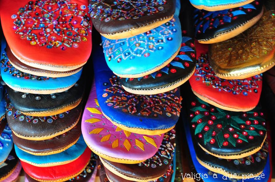 babbucce pelle marocco