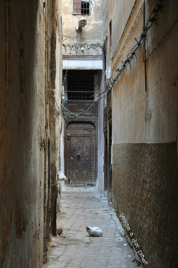 strade strette medina Fes