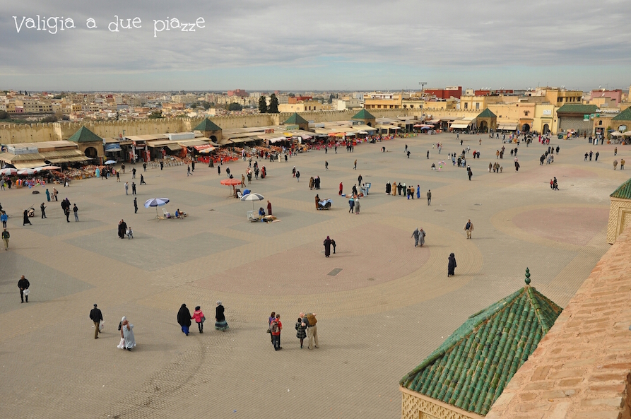 place el-Hedim Meknes Marocco