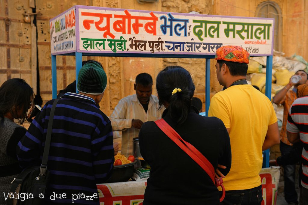 Jaisalmer venditore ambulante