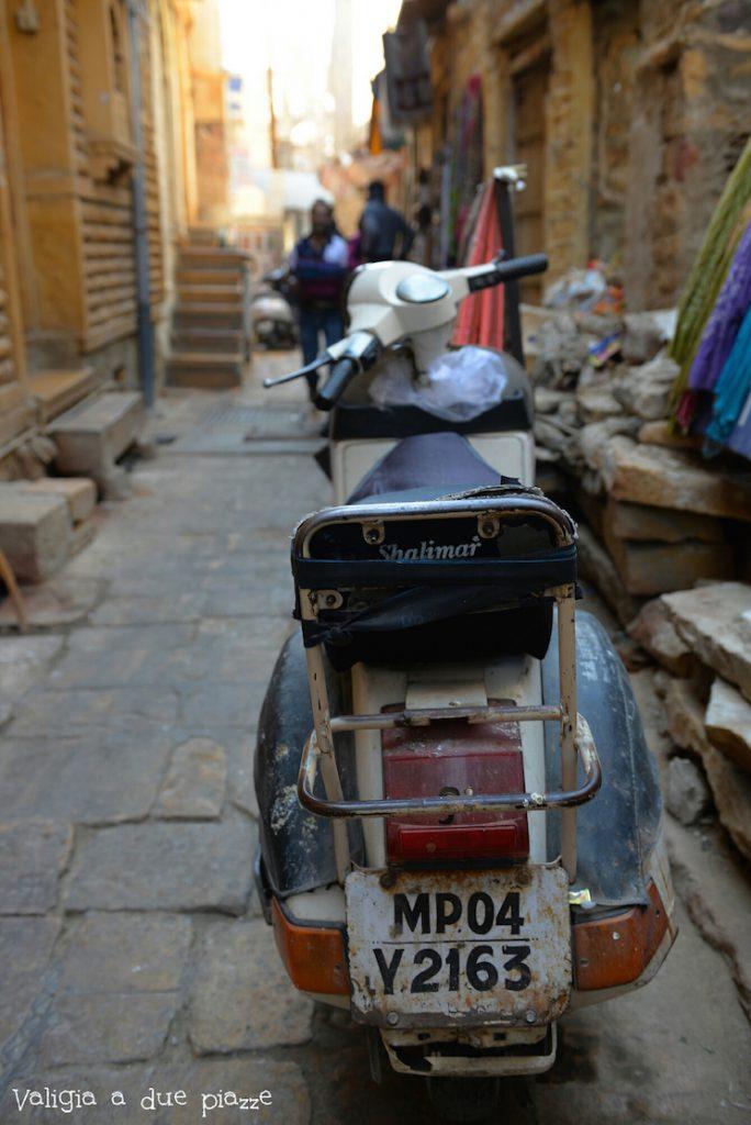India Jaisalmer street view