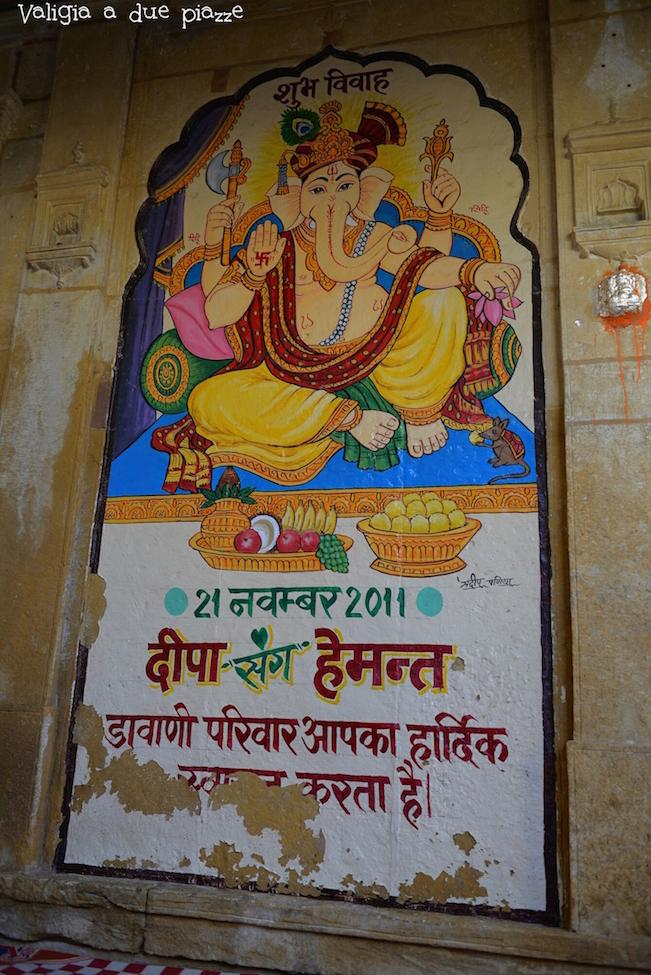 Ganesha matrimonio Jaisalmer