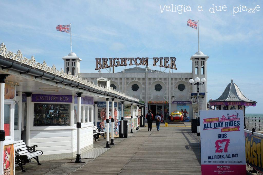 brighton pier inghilterra