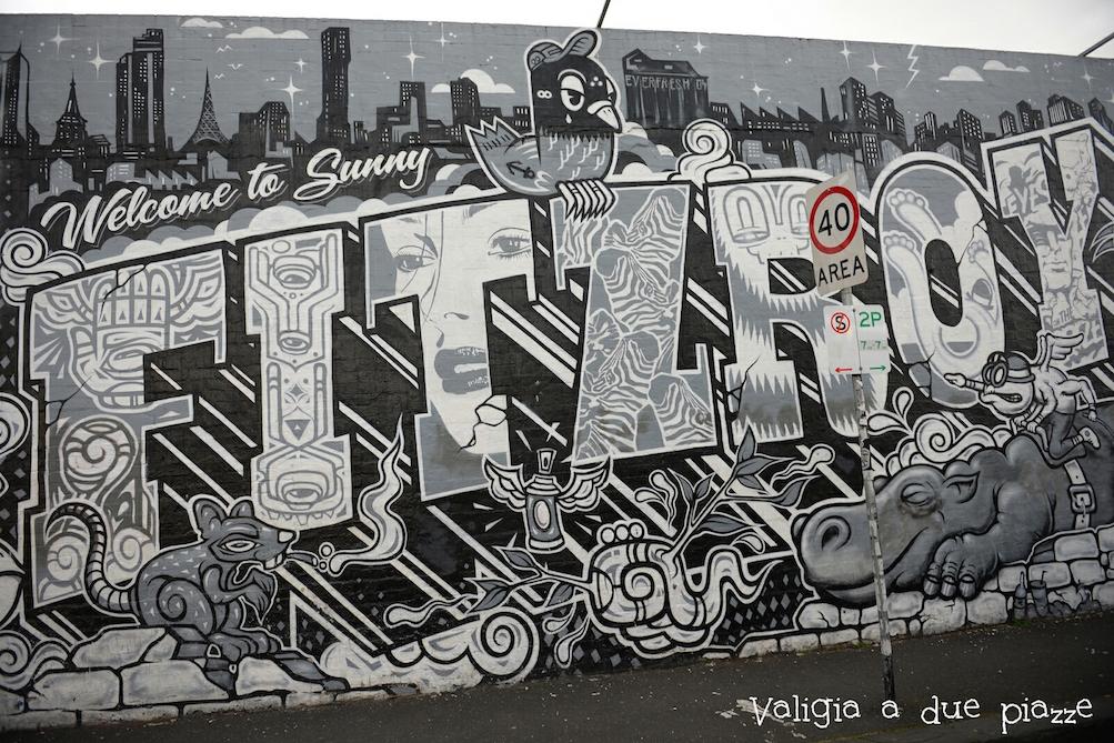 Fitzroy Melbourne murale