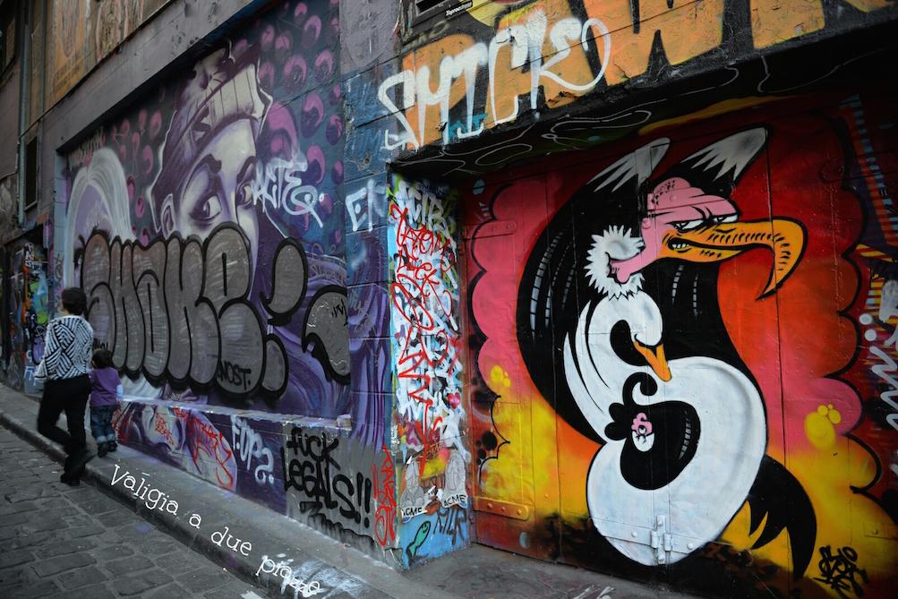 Hosier Lane murales