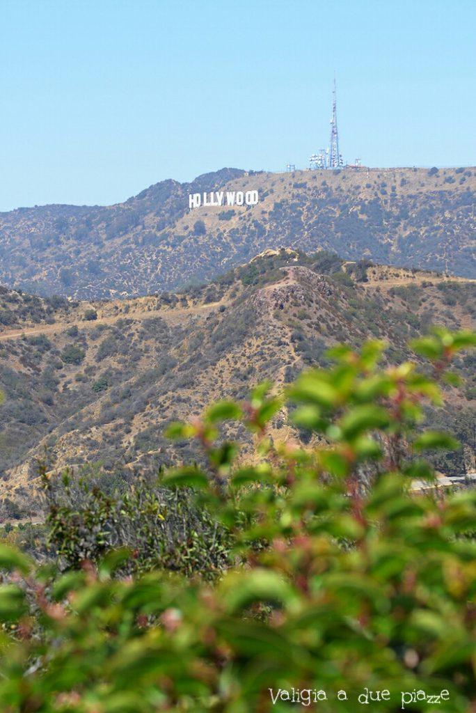 scritta Hollywood Los Angeles
