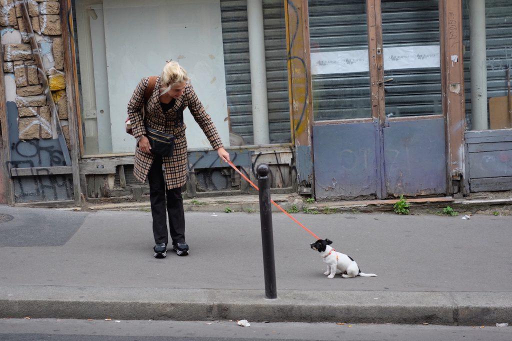 Pigalle verso Montmartre parigi